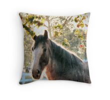 Bright Morning Beauty Throw Pillow