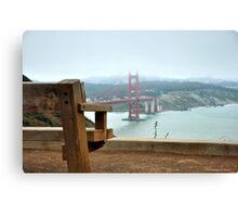 Watching San Francisco Canvas Print