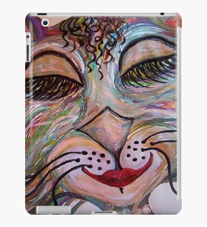 Flirty Funky Feline iPad Case/Skin