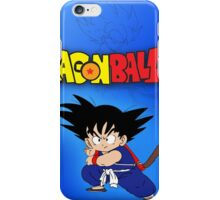 DRAGONBALL 10 iPhone Case/Skin