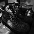 Work Boots by Anthony Cummings