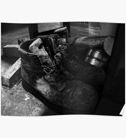 Work Boots Poster