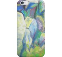 Cow and Calf 2 iPhone Case/Skin