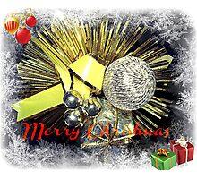 Christmas Greeting Card Photographic Print