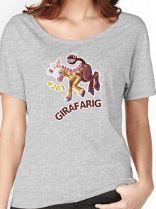Girafarig Hopping - Pokemon Women's Relaxed Fit T-Shirt