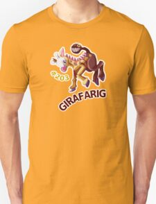 Girafarig Hopping - Pokemon Unisex T-Shirt