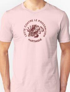 Lutte contre le poisson-lion - Martinique - Bordeaux T-Shirt