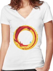 The Hobbit Women's Fitted V-Neck T-Shirt