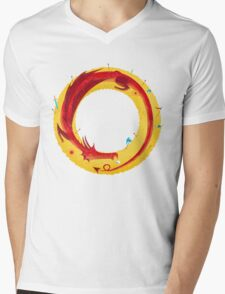 The Hobbit Mens V-Neck T-Shirt