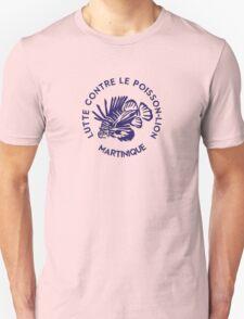 Lutte contre le poisson-lion - Martinique - Bleu T-Shirt
