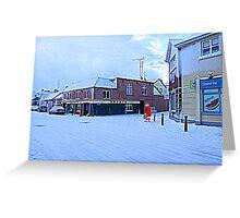 Santa Shops at Centra... Greeting Card
