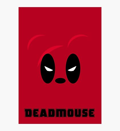 Deadmouse - parody Photographic Print