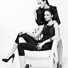 Anastasia Kolchanova & Maria Dashkevich by Sergey Afanasyev