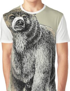 The Great Bear - A fierce protector Graphic T-Shirt