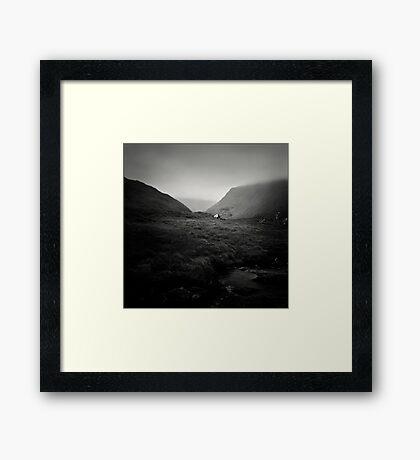 Pass Framed Print