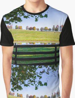 Kentucky Horse Farm Graphic T-Shirt