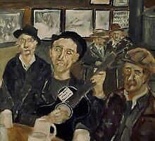 Woody Guthrie by Phil Cashdollar