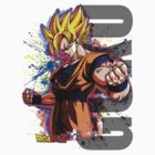 GOKU  by Extreme-Fantasy
