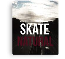 Highway to nature Canvas Print