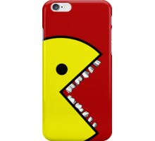 Pacman with teeth Case 1 iPhone Case/Skin
