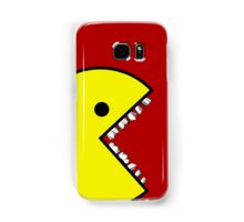 Pacman with teeth Case 1 Samsung Galaxy Case/Skin