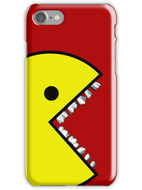 Pacman with teeth Case 1 by MrBliss4
