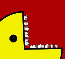 Pacman with teeth Case 2 by MrBliss4
