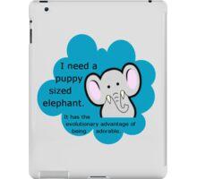 Puppy sized elephants. <3 DFTBA iPad Case/Skin