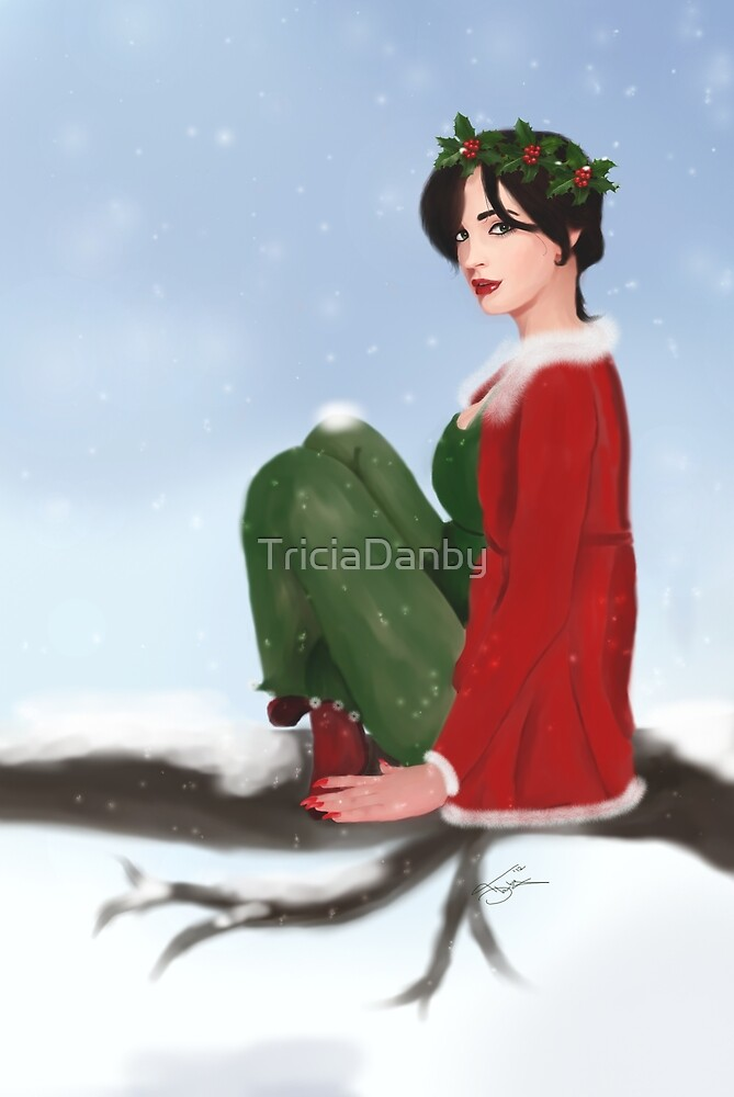 The Holly Queen by TriciaDanby