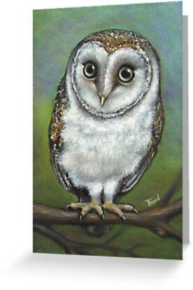 An Owl Friend by tanyabond