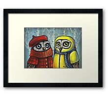 School Sweethearts Framed Print