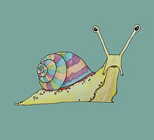 Disappointed But Actually Angry Snail by Pegg-n-Chops