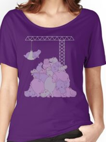 Hippopotapile - the more the merrier! Women's Relaxed Fit T-Shirt