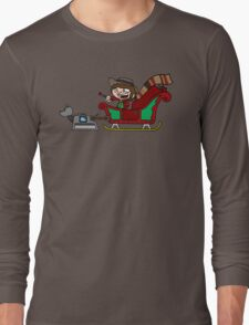 Timelord Santa! Long Sleeve T-Shirt