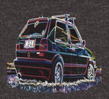 VW GTI - Neon by ddfoto