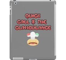 The best clams in town! iPad Case/Skin