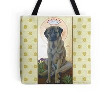 Anatolian Shepherd Dog done as an icon -- Mesa Verde Tote Bag