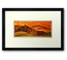 Sunset on Colmers Hill Framed Print