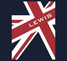 Lewis Hamilton - Union Jack by Tom Clancy