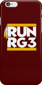 "VICT Washington ""Run RG3"" iPhone iPod Case by Victorious"