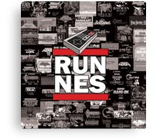 RUN NES Canvas Print