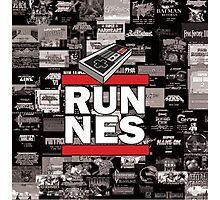 RUN NES Photographic Print