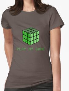 Play My Game Womens Fitted T-Shirt