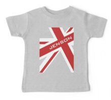 Jenson Button - Union Jack Baby Tee