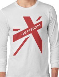 Jenson Button - Union Jack Long Sleeve T-Shirt