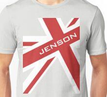 Jenson Button - Union Jack Unisex T-Shirt