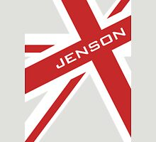 Jenson Button - Union Jack Unisex T-Shirt