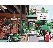 Cactus Cafe Photographic Print