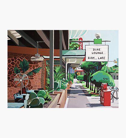 Cactus Cafe Photographic Print