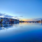 Reflection of Glenelg Marina by Kelvin  Wong